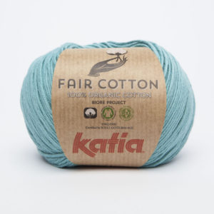 FAIR COTTON KATIA Coloris N°16 Turquoise