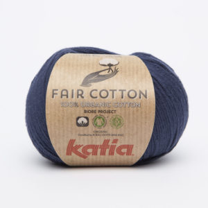 FAIR COTTON KATIA Coloris N°05 Bleu