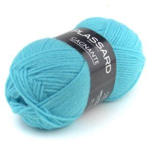 GAGNANTE N°950 de PLASSARD Sachet de 10 Pelotes Coloris Turquoise