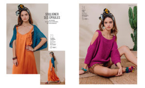 Catalogue Phildar N°140 Femme Printemps-Été 2017