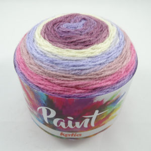 PAINT N°51 de KATIA pelote de 150 g coloris Multicolore