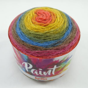 PAINT N°54 de KATIA pelote de 150 g coloris Multicolore