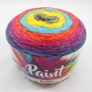 PAINT N°55 de KATIA pelote de 150 g coloris Multicolore