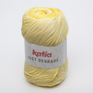 JUST DÉGRADÉ N°302 de KATIA pelote de 100 g coloris Jaune