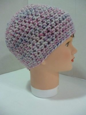 bonnet au crochet My Boshi Cream coloris multicolore
