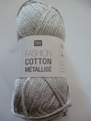 Fashion Cotton Métallisé N°04 Coton de RICO DESIGN