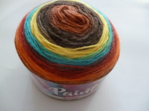 PAINT N°58 de KATIA pelote de 150 g coloris Multicolore