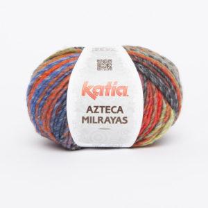 AZTECA Milrayas N°713 KATIA pelote 100 g Coloris Multicolore