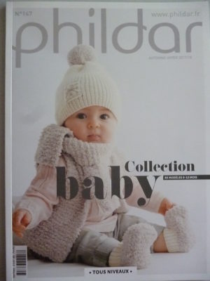 Phildar N°147 Layette – Automne-Hiver 2017/18 « Collection Baby »