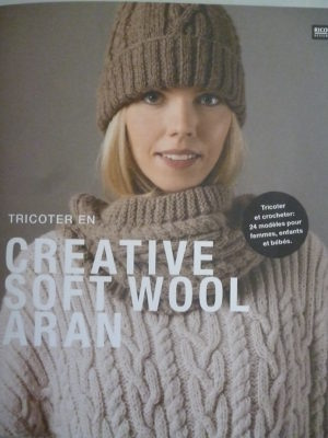 Tricoter en « Créative Soft Wool Aran » RICO DESIGN