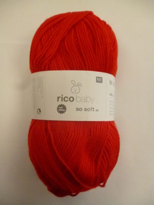 LOT de 5 Pelotes Baby So Soft de RICO DESIGN Coloris N°06
