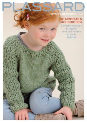 Plassard N°136 «Enfants Intemporel» 29 Modèles