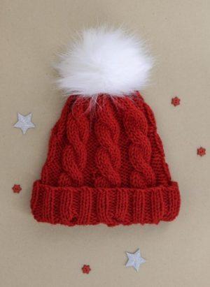 Kit bonnet Noël Bergère de France