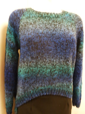 pull en Sunrise de DMC coloris multicolore