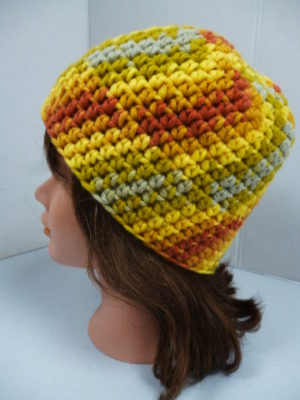 bonnet au crochet My Boshi coloris multicolore