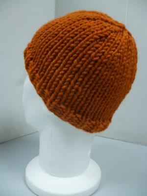 bonnet en Canada coloris cuivre