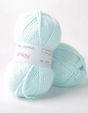 Looping de Phildar coloris Jade