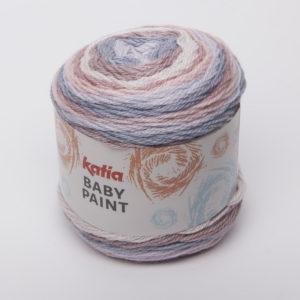 BABY-PAINT N°103 de KATIA pelote de 100 g Multicolore