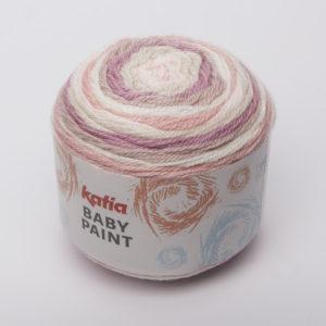 BABY-PAINT N°104 de KATIA pelote de 100 g Multicolore