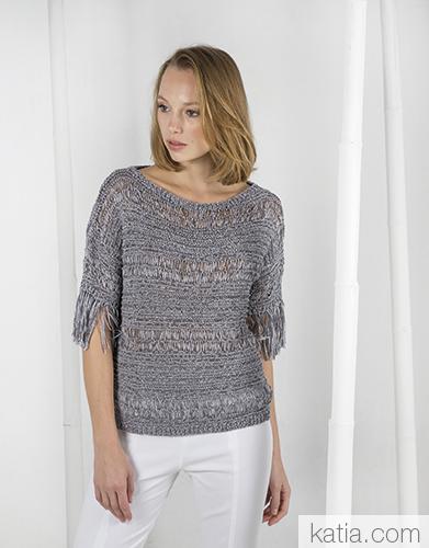 Modele Crochet Femme Gratuit Katia