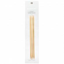 Aiguilles à Chaussettes en Bambou RICORUMI de Rico Design