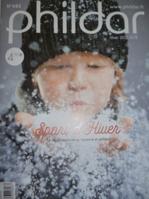 Phildar N°683 – Famille – Automne-Hiver 2017/18