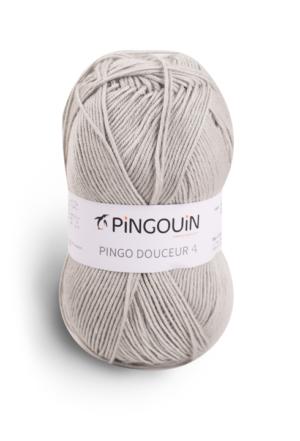 PINGO Douceur 4 de Pingouin Coloris Perle