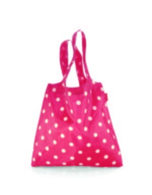 Mini Maxi Shopper « magenta dots » Reisenthel