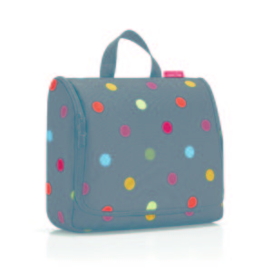 Toiletbag XL « dots » Reisenthel