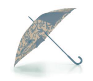 Parapluie «baroque taupe» Reisenthel