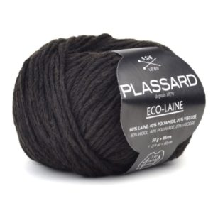 ECO-LAINE de PLASSARD Coloris N°671 Anthracite