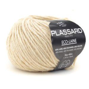ECO-LAINE de PLASSARD Coloris N°747 Blanc