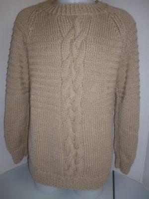 pull homme en PERU de KATIA coloris beige