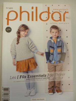 Phildar N°689 Enfants – Fils Essentiels – Automne-Hiver 2018-2019