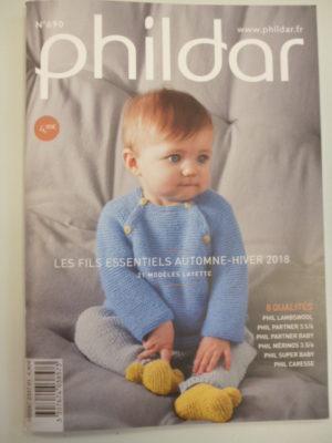 Phildar N°690 Layette – Fils Essentiels – Automne-Hiver 2018-2019
