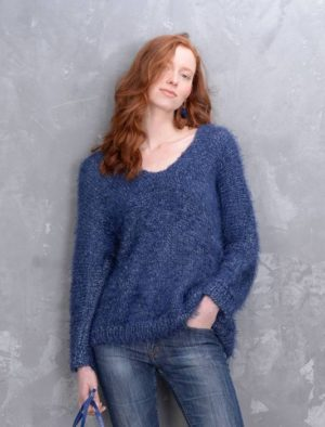 ZIBELINE N°23 de PLASSARD Coloris Bleu