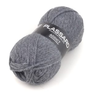 ADDICT N°13 de PLASSARD Coloris Gris