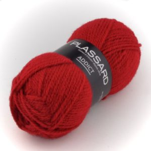 ADDICT N°60 de PLASSARD Coloris Rouge