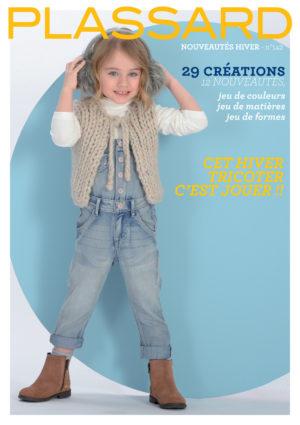 Plassard N°142 «Nouveautés-Hiver» 29 Créations Enfants