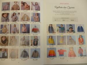 Phildar N°156 «Maille rentrée» 36 Modèles Enfant – Automne-Hiver 2018/19