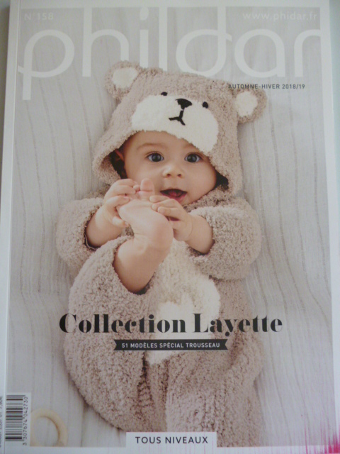 catalogue phildar layette