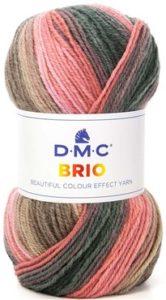 BRIO nouveau fil Multicolore de D.M.C