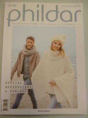 Phildar N°160 «Spécial Accessoires et Ponchos» Automne-Hiver 2018/19