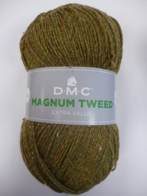MAGNUM Tweed de D.M.C N°695 Coloris Vert Tweed