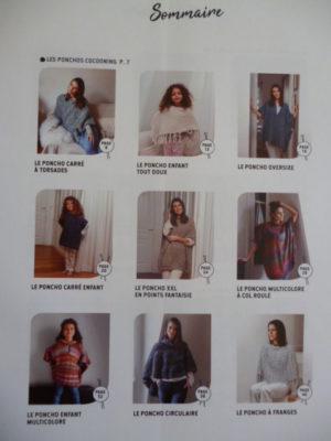 Phildar N°859 PONCHOS à Tricoter et à Crocheter