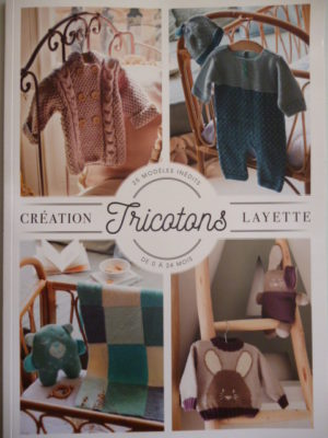 D.M.C «Tricotons Layette» 25 Modèles Inédits de 0 à 24 Mois