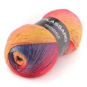 MANDALA  PLASSARD coloris N°25 Pelote de 150 Gr