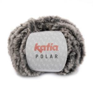 POLAR N°85 de KATIA pelote de 100 g coloris Gris