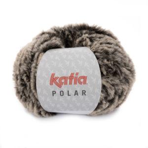 POLAR N°86 de KATIA pelote de 100 g coloris Brun Fauve