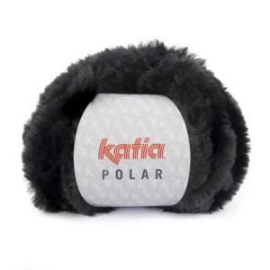 POLAR N°87 de KATIA pelote de 100 g coloris Noir